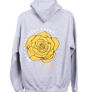 ROSE Patch Hoodie multi grey