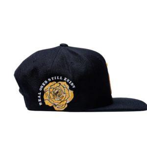 R Crown Black & Yellow Hat