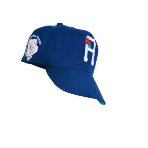 R Crown Hat Navy Blue & White