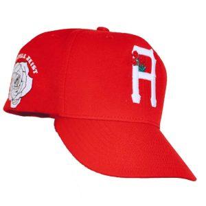 R Crown Hat Red & White