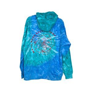 ROSE Ocean Tie Dye Hoodie