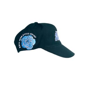 ROSE. Hockey Logo SnapBack | Black