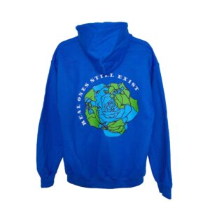 ROSE. Multi Patch hoodie | Dodger Blue