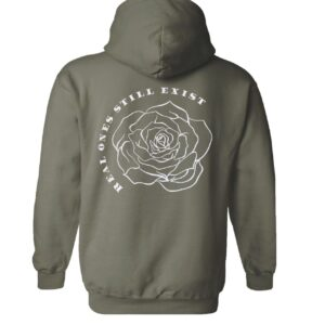 Camo ROSE. Patch Hoodie