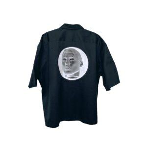 Globe ROSE. Bowling Shirt   Black